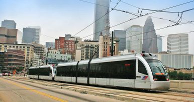 Houston Merto Line downtown